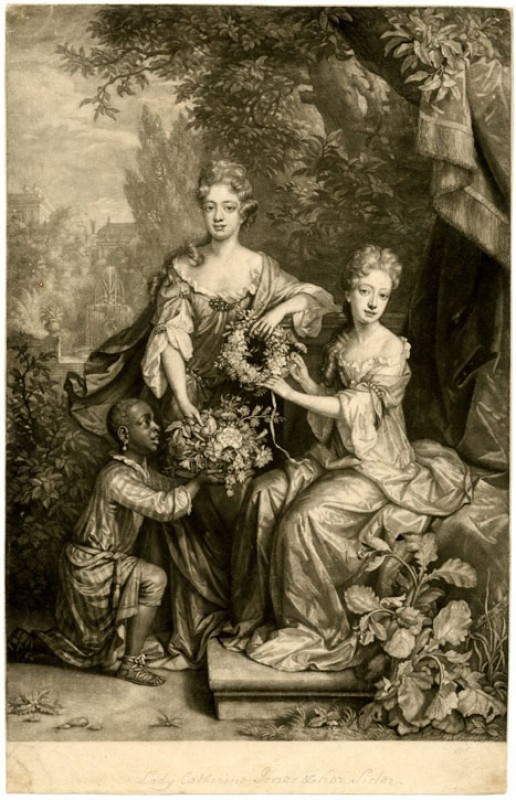 The Lady Frances and the Lady Catharine Jones Daughters to the Right Honble Richard Earle of Ranelag
