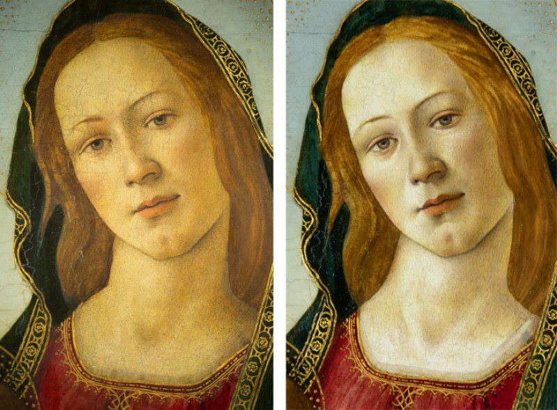 c.1500, oil on board, originally thought to be by the studio of Sandro Botticelli (1444/1445–1510)